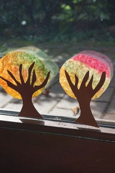 Crafts with children in autumn // At our window – lively life - Malen Christmas Gift Wrapping, Christmas Gifts, Halloween Projects, Creative Kids, Halloween Decorations, Fall Decor, Crafts For Kids, Children Crafts, Moose Art