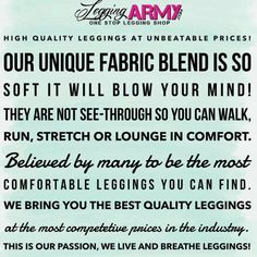 Join my FB group for give aways and sneak peaks of new inventory! (Leggings for Dayz by Danielle)