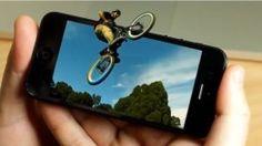 """EyeFly 3D"" - protetor de tela de smartphone 3D"