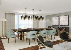 7 Stylish Blue Dining Room Chairs That You Will Covet | Dining Room Ideas. Dining Room Furniture. #diningroomideas #diningroomfurniture #diningchairs Read more: http://diningroomideas.eu/stylish-blue-dining-room-chairs-covet/