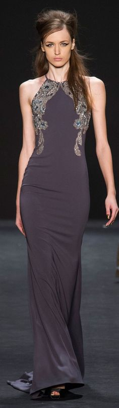 Badgley Mischka Fall 2015 ~ NYFW