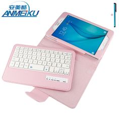 31.07$  Buy now - http://alip2l.shopchina.info/1/go.php?t=32815905684 - Keyboard For Samsung Galaxy Tab A 8.0 T350 T351 Tablet Case Removable Wireless Bluetooth Flip Stand PU Leather For Tab A 8.0inch 31.07$ #buyininternet