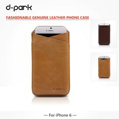 Ultra-thin First layer of Genuine Cow Leather Case Cover //Price: $34.66 & FREE Shipping //   #iphoneromeo