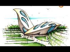 architect emad zand - sketch 01 - خلاقیت در معماری عمادالدین زند
