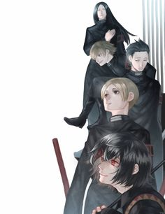 Tokyo Ghoul:re Suzuya Squad