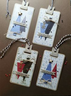 Christmas Tag, Dog Tags, Gift Tags, Dog Tag Necklace, Wallet, Simple, Gifts, Scrapbooking, Jewelry