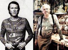 Modernos que serán señores con tatuajes.