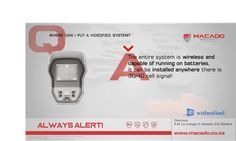 Where can I put a Videofied system? Because the entire system is wireless and capable of running on batteries, it can be installed anywhere there is cell signal! Security Technology, Mac, Central Station, Night Vision, I Can, Smartphone, Canning, File Size, Verify