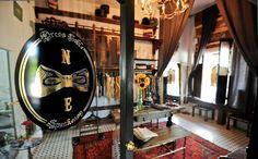 Noble Experiment Tailor Shop and Showroom Modern Tailor, Suit Stores, Tailor Shop, Entrepreneur Inspiration, Custom Clothes, Showroom, Interior Design, Studio, Luxury