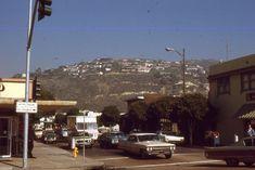 35mm Slide Southern California Street Scene Cars 1971
