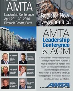 Wow! I'm honored to be the keynote speaker at the AMTA leadership conference. Business owners from the transportation industry across Canada will be there.  Grateful for the opportunity to share knowledge about Social Media.  How to grow your brand fans followers influence and profit.  Is social media a real tool or a real waste of time?  You'll decide after my 1 hour talk.  I'll also discuss success stories like going from complaint to $35000 sale on Twitter. #amta #business #leadership…
