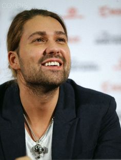 David Garrett ♪ . Moscow, Russia. November 19, 2013. (Photo ITAR-TASS/ Artyom Geodakyan)