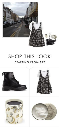 """""""don't look back in anger"""" by constellvtion ❤ liked on Polyvore featuring Dr. Martens, Fornasetti and Paul & Joe"""