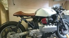 Making progress on my BMW k 100 cafe racer.