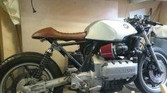 Making progress on my BMW k 100 cafe racer.