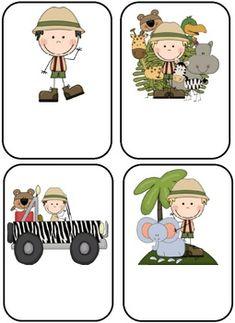 Jungle/Safari Themed Blank Classroom Labels - 48 pages Jungle Theme Classroom, Classroom Themes, Safari Theme, Jungle Safari, Preschool Jungle, Jungle Love, Jeep, Classroom Labels, Pink Cat