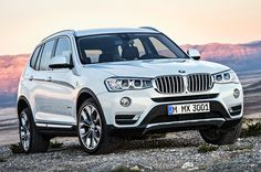 Official: 2015 BMW X3 arrives with tweaked styling, diesel choice - http://www.justcarnews.com/official-2015-bmw-x3-arrives-with-tweaked-styling-diesel-choice.html