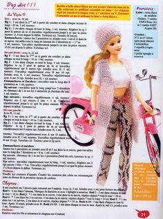 Albums archivés - crochet pour barbie français