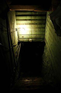 Isiphumo somfanekiso we-scary basement