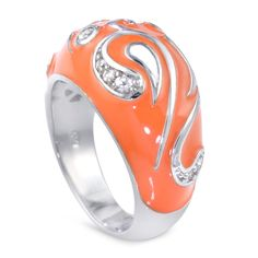 Coach Legacy, Fine Jewelry, Jewellery, Tulips, How To Find Out, Orange, Earrings, Enamel, Shopping