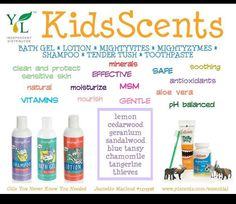 Kid scents #natural #yleo www.theoildropper.com