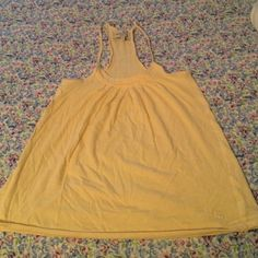 Selling this Yellow flowy top in my Poshmark closet! My username is: loulou222. #shopmycloset #poshmark #fashion #shopping #style #forsale #Abercrombie