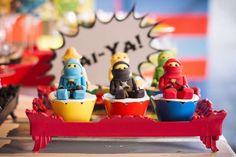 Cute Ninjago cupcakes