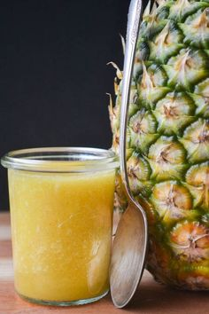 A healthy and all natural cough remedy!  Pineapple is 5x more effective than over the counter meds at calming a cough!