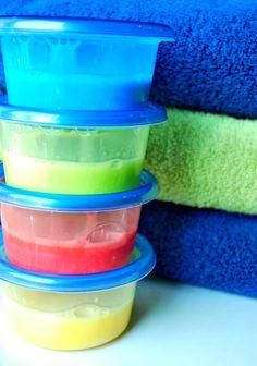 How to make bubble bath paints