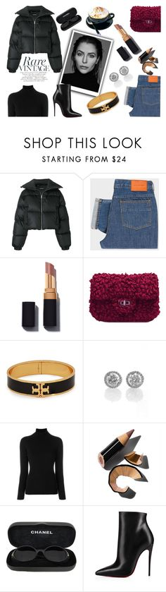 """""""NEW YORK CHILL"""" by mer084 ❤ liked on Polyvore featuring MISBHV, PS Paul Smith, Gabriella, Tory Burch, La Fileria, Bobbi Brown Cosmetics, Chanel, Christian Louboutin, Winter and puffercoats"""