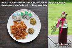 Natürlicher Hustensaft aus Heilkräutern [Rezept]