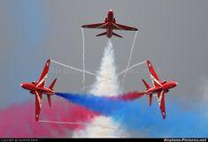 UK - Air Force: Red Arrows XX227 aircraft at Waddington photo
