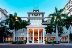 Moana Surfrider, Hawaii Hula, Honolulu Hi, Waikiki Beach, Stage Set, Travel Channel, Romantic Getaway, Resort Spa, Best Hotels