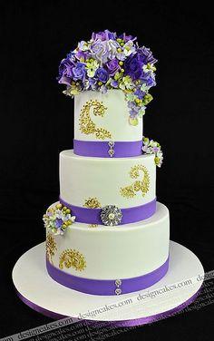 Henna wedding cake by Design Cakes, via Flickr
