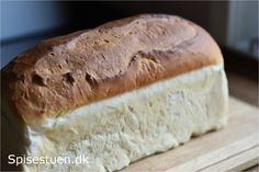 easy with only four ingredients, this is the go-to bread. Bread Recipes, Baking Recipes, Drink Recipes, Danish Food, Bread Bun, Soda Bread, Bread And Pastries, Home Food, Sweet Bread