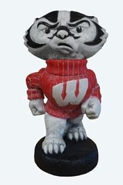 "Wisconsin ""Bucky Badger"" College Mascot By Henri Studio  This statue can be purchased at www.apollostatuary.com"