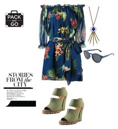 """""""mexico city"""" by im-karla-with-a-k on Polyvore featuring Isolda, Michael Antonio, Lulu Frost and Triple Graces"""