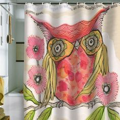 DENY Designs Cori Dantini Miss Goldie Shower Curtain, 69-Inch by 72-Inch by DENY Designs, http://www.amazon.com/dp/B008AJL6R4/ref=cm_sw_r_pi_dp_v83Lrb07XTJDV