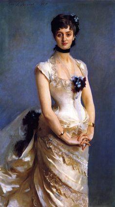 Madame Paul Poirson.John Singer Sargent