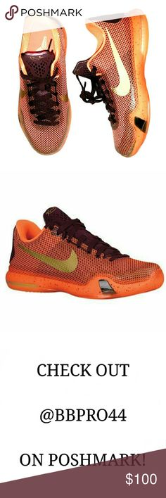 Nike Kobe X (GS) Silk Road Brand new, never worn, reposh from Nike Shoes Sneakers Trendy Fashion, Fashion Tips, Fashion Design, Fashion Trends, Nike Free Runs For Women, Nike Shoes, Shoes Sneakers, Silk Road, Orange And Purple
