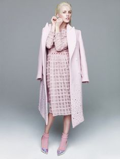 visual optimism; fashion editorials, shows, campaigns & more!: julia frauche by nagi sakai for vogue mexico january 2015