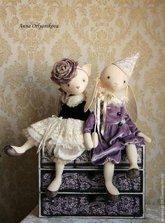 Коллекционные куклы ручной работы. Ярмарка Мастеров - ручная работа Амели. Handmade.