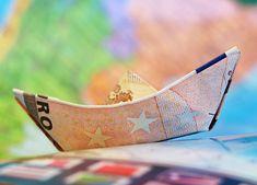 Euro, Navio, Dinheiro, Veleiro, Origami, Mapa, Finanças