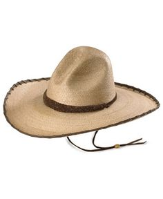 Larry Mahan 30X Cherokee Sloped Straw Cowboy Hat Cowgirl Hats eaf901a91b22