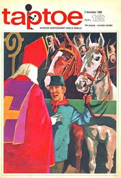 Taptoe 12 (tijdschrift) : softcover Sinterklaas, 1966