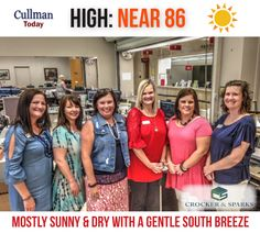 CULLMAN COUNTY WEATHER: WEDNESDAY, May 25th - SUNNY - DRY - GENTLE SOUTH WIND - High 85° - Today's weather forecast sponsored by: Crocker & Sparks - Putting Our Clients First  At 7:30 am Wednesday current conditions at Cullman Regional Folsom Field:  OVERCAST - 67° Dew point: 56° Humidity: 69% Wind: South 3 mph Barometer: 30.20 inches Visibility: 10.00 miles  Sunrise = 5:38 am Sunset = 7:50 pm