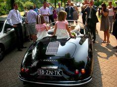 Unieke trouwauto huren? De Porsche 356 Speedster www.TrouwSpeedster.nl