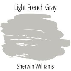 All about Sherwin Williams Light French Gray