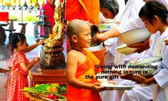 SHARING SMILES :-) Pure Giving in mutual joy raises the treasure of Contentment _/\_  http://What-Buddha-Said.net/drops/V/Pure_Merit.htm http://What-Buddha-Said.net/drops/III/Glad_Giving.htm http://What-Buddha-Said.net/drops/III/The_3_Gifts.htm
