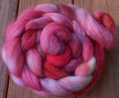 Roving Wool Roving Handpainted Roving Sun by SimplyHandspunYarn, $23.00